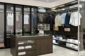 Итальянские и французские шкафы и гардеробные в Одессе