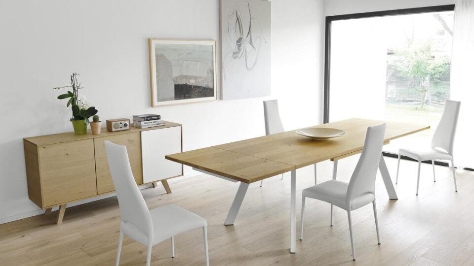 Стол обеденный Calligaris Ponente прямоугольный раскладной итальянская мебель в Одессе