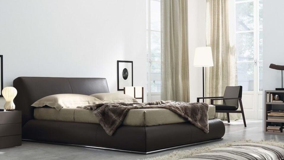 Итальянская кровать Jesse Baldo кожа контейнер хранения итальянская мебель в Одессе