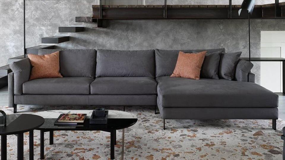 Модульный диван на металлических ножках Calligaris Meridien итальянская мебель в Одессе