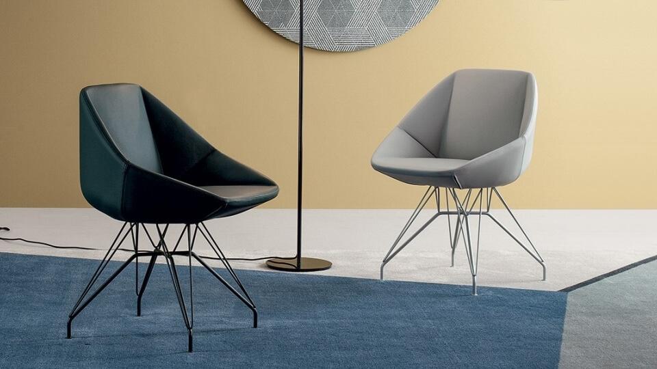 Итальянский стул Bonaldo Stone обеденный кожа итальянская мебель в Одессе