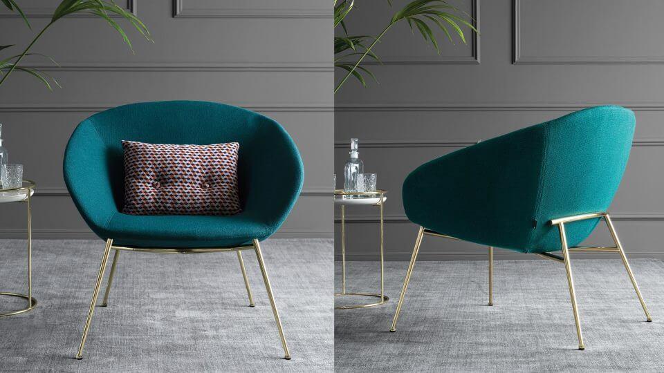 Кресло Calligaris Love в мягкой обивке итальянская мебель в Одессе