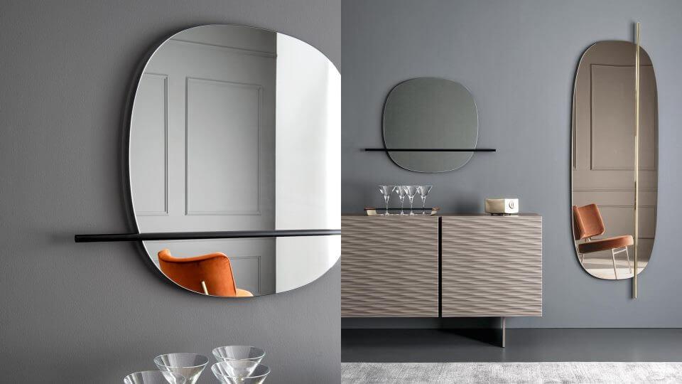 Зеркало Calligaris Vanity круглой/овальной формы итальянская мебель в Одессе