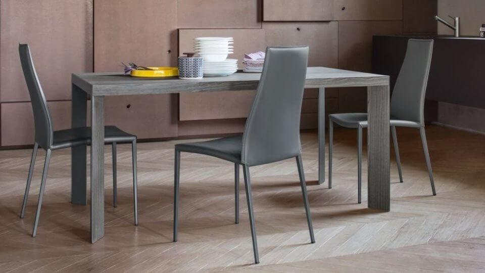 Стол обеденный Calligaris Lam прямоугольный раскладной итальянская мебель в Одессе