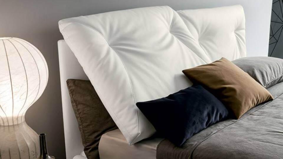 Кровать Felis Edgar в мягкой обивке из ткани с коробом для хранения вещей итальянская мебель в Одессе