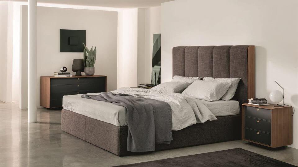 Кровать Porada Aida в мягкой обивке итальянская мебель в Одессе