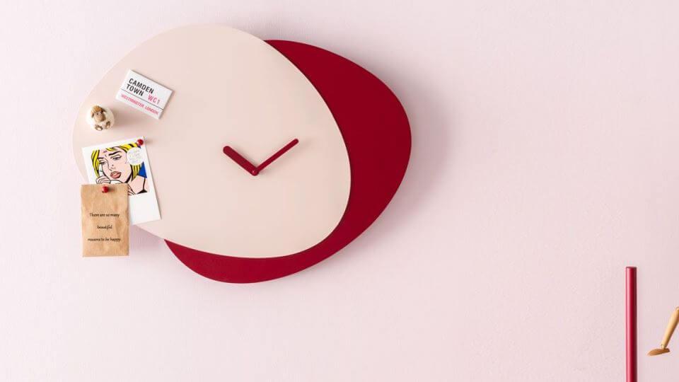 Часы Calligaris Allora с металлическим корпусом в разных цветовых решениях итальянская мебель в Одессе