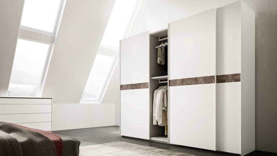 Шкаф распашной/раздвижной MAB Doppia итальянская мебель в Одессе