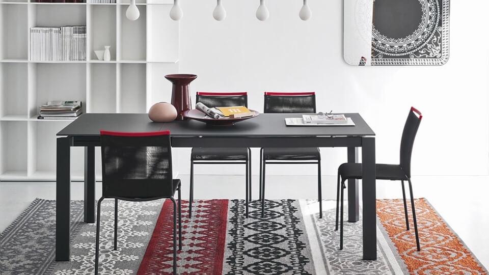 Стол обеденный Calligaris Duca прямоугольный раскладной итальянская мебель в Одессе