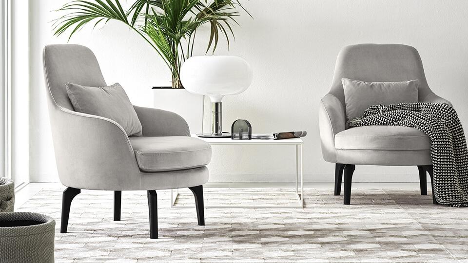 Кресло Calligaris Medea в мягкой обивке итальянская мебель в Одессе