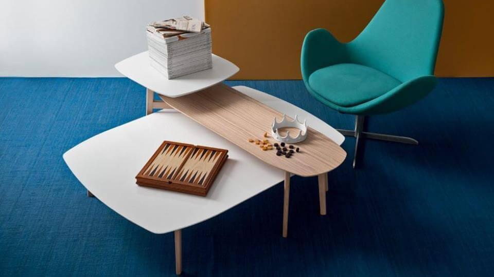 Многоуровневый журнальный стол Calligaris Match итальянская мебель в Одессе