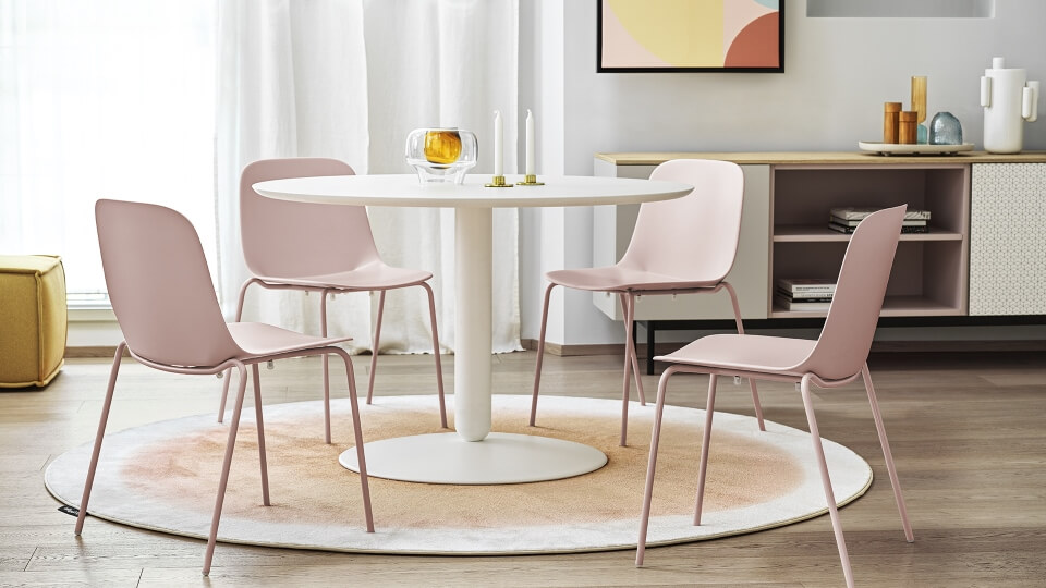 Стол обеденный Calligaris Balance не раскладной в матовой/глянцевой покраске итальянская мебель в Одессе