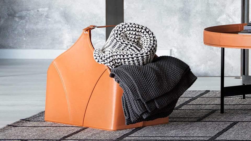 Плед Calligaris Cantwell крупной вязки в Одессе Корзина для хранения Calligaris Utility в разных цветовых решениях итальянская мебель в Одессе