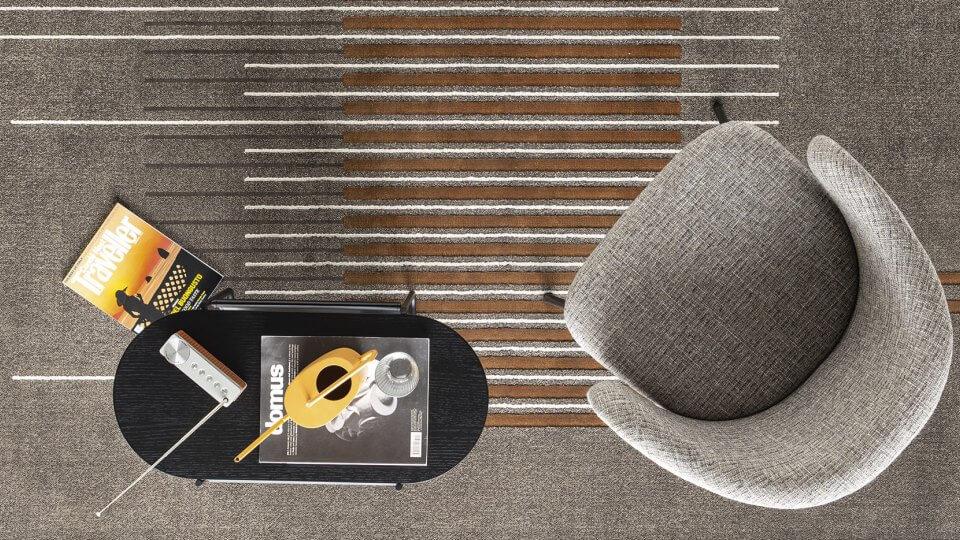 Ковер Calligaris Uptown из синтетических волокон итальянская мебель в Одессе