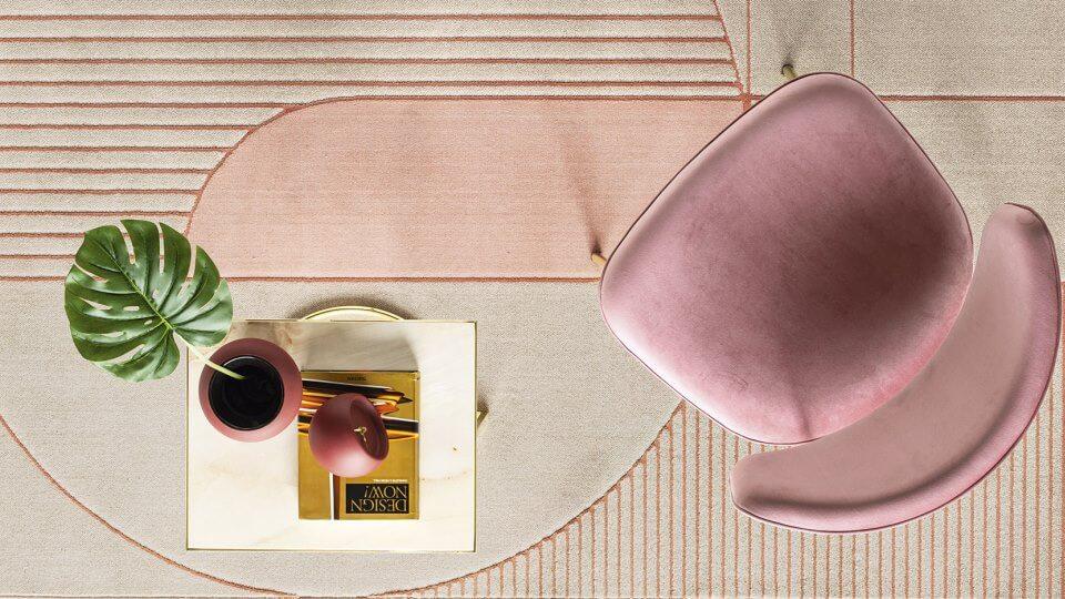 Ковер Calligaris Eiffel из синтетических волокон (полиэстра и полипропилена),в нескольких размерах итальянская мебель в Одессе