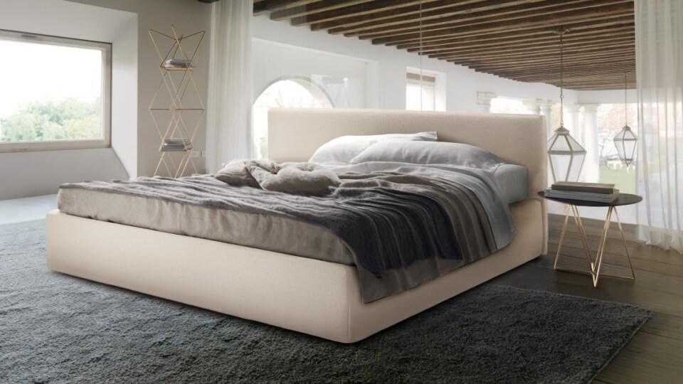 Кровать Desiree Blo в мягкой обивке короб для хранения вещей итальянская мебель в Одессе