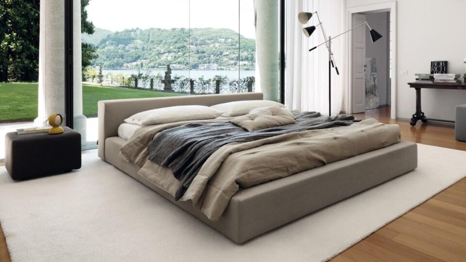 Кровать Desiree Kubic в мягкой обивке итальянская мебель в Одессе