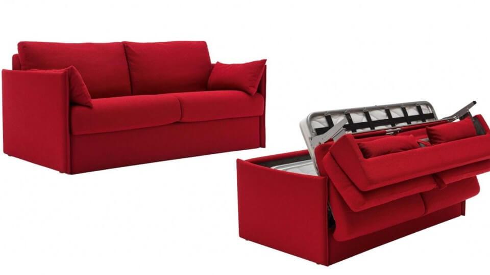 Диван со спальным местом Calligaris Urban: обивка ткань/натуральная кожа, возможность выбрать необходимый габарит итальянская мебель в Одессе