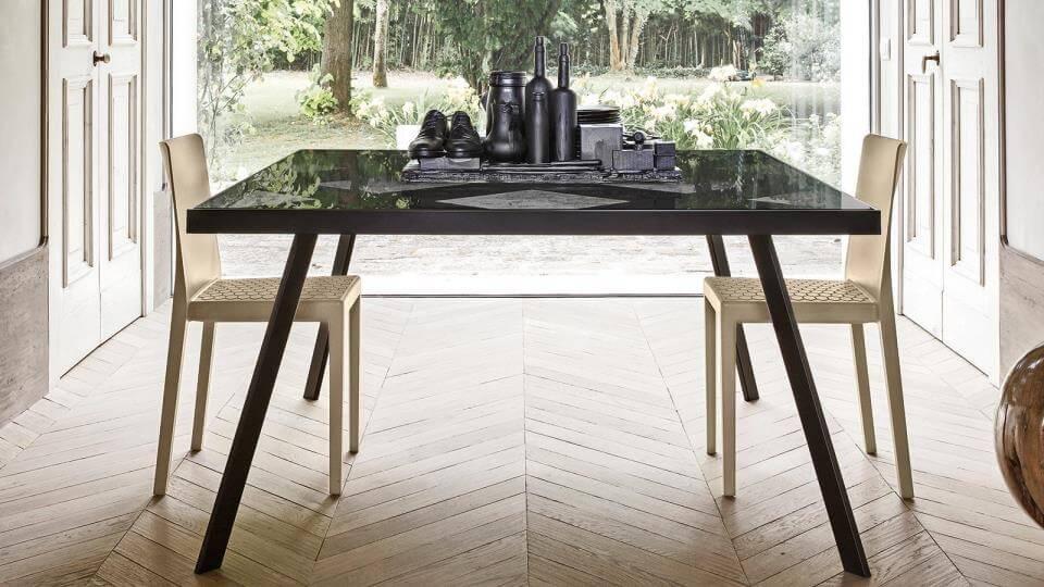 Стол обеденный Calligaris Frame квадратный/прямоугольный итальянская мебель в Одессе