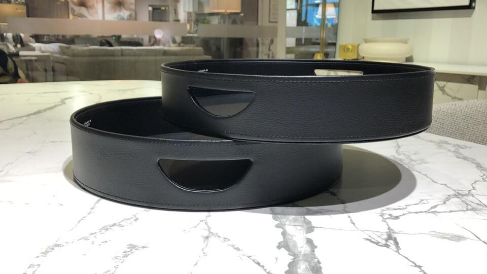 Поднос Calligaris Damian круглой формы в разных цветовых решениях итальянская мебель в Одессе