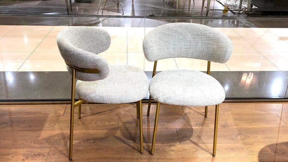 Новинка! В наличии стул Calligaris Oleandro обеденный в обивке из ткани ( цвет- Painted Brass ) на металлических ножках ( цвет- Hemp ), размер: 58 х 57,5 х 80,5 итальянская мебель в Одессе