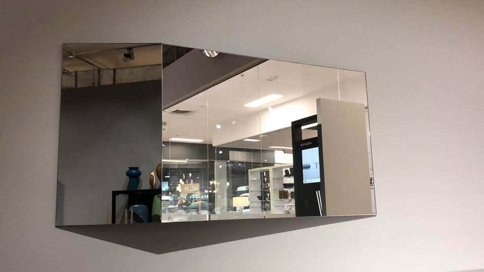 Зеркало Calligaris Viewpoints прямоугольной/квадратной формы с декоративным элементом итальянская мебель в Одессе