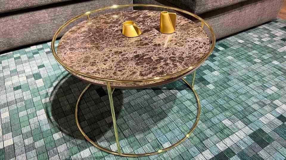 Журнальный стол Calligaris Atollo с керамической столешницей итальянская мебель в Одессе