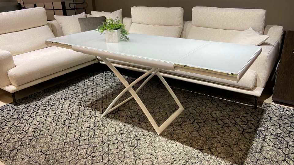 Стол трансформер Calliagris Dakota с керамической/стеклянной раскладной столешницей итальянская мебель в Одессе