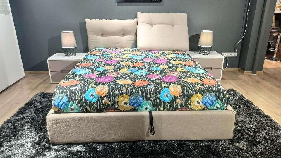 Итальянская кровать Felis Scotty мягкое основание итальянская мебель в Одессе