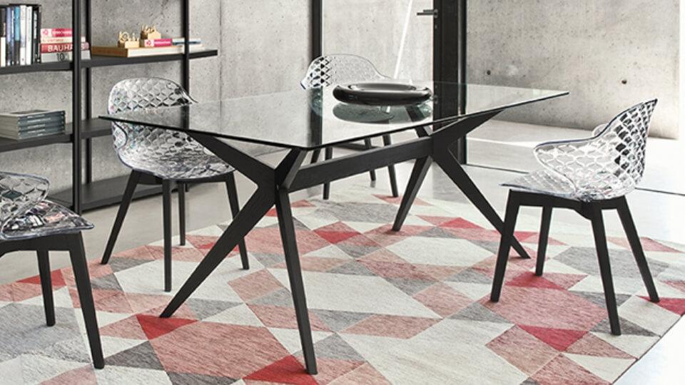 Стол обеденный Calligaris Kent прямоугольный/круглый итальянская мебель в Одессе