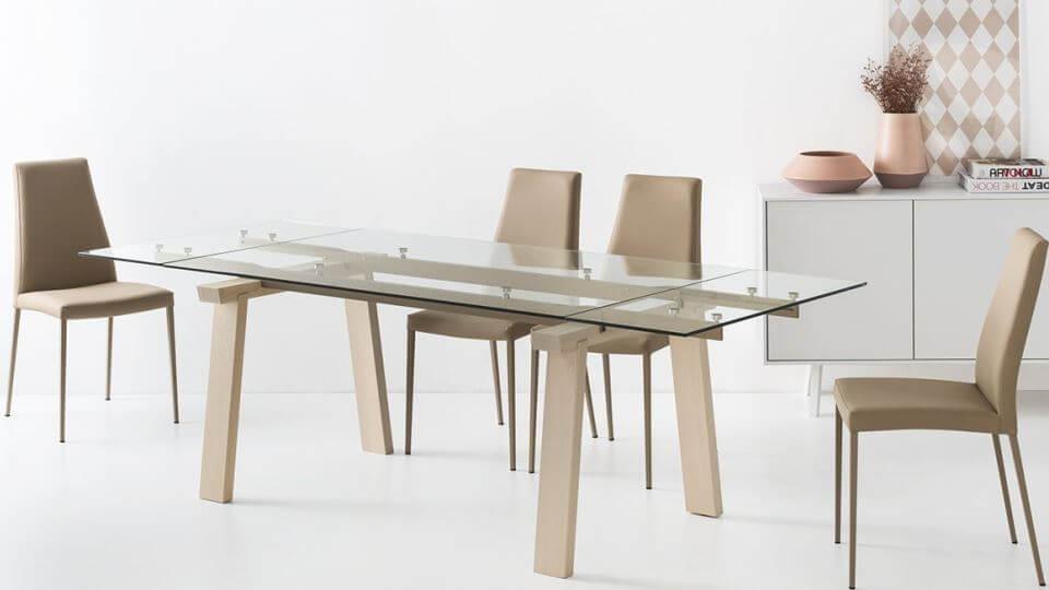 Стол обеденный Calligaris Levante прямоугольный раскладной итальянская мебель в Одессе