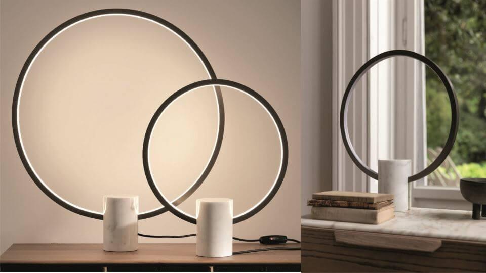 Настольная лампа Porada Halo итальянская мебель в Одессе