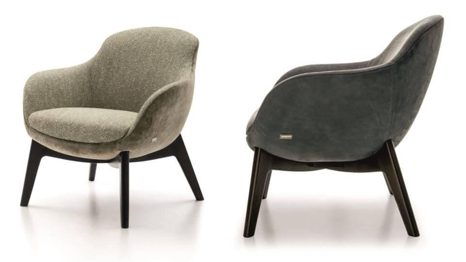 Кресло Nicoline Chirla в мягкой обивке итальянская мебель в Одессе