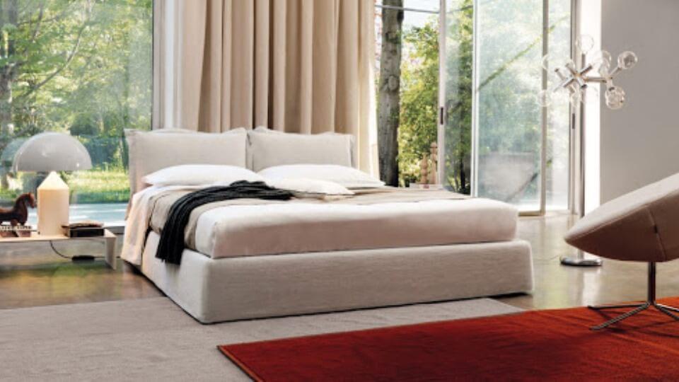 Кровать Desiree Vanity в мягкой обивке с коробом для хранения итальянская мебель в Одессе