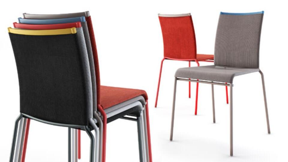 Стул Calligaris Web обеденный/барный/полубарный/home office с металлическим каркасом итальянская мебель в Одессе