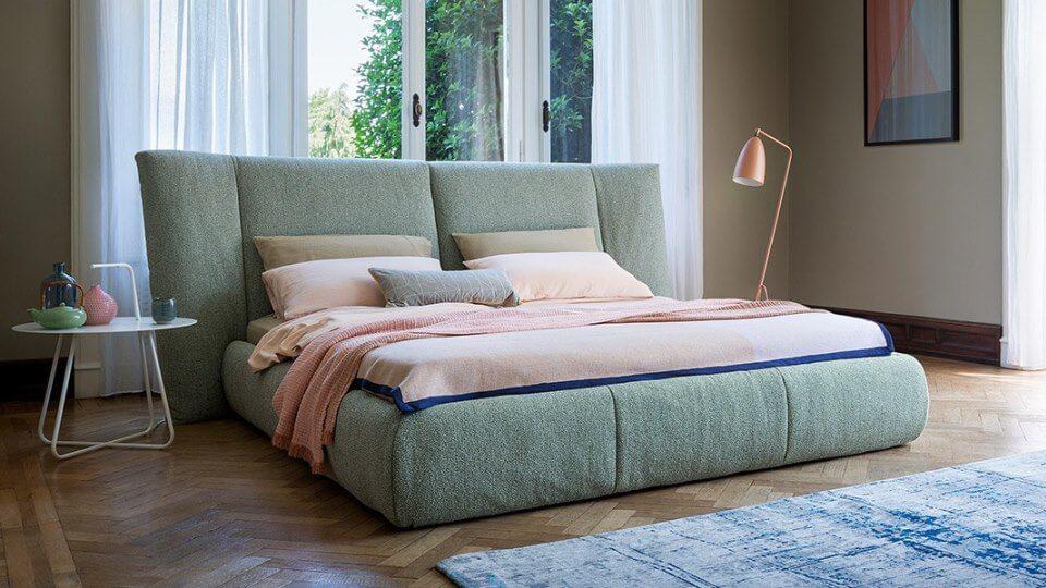 Итальянская кровать Bonaldo Youniverse мягкая контейнер для хранения итальянская мебель в Одессе