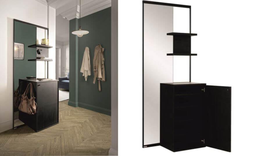 Композиция мебели для прихожей Addict французской фабрики Gautier итальянская мебель в Одессе