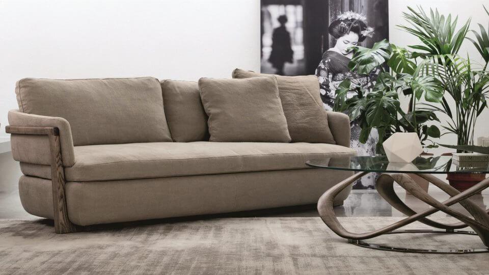 Диван Porada Arena Divano с каркасом из массива ясеня итальянская мебель в Одессе
