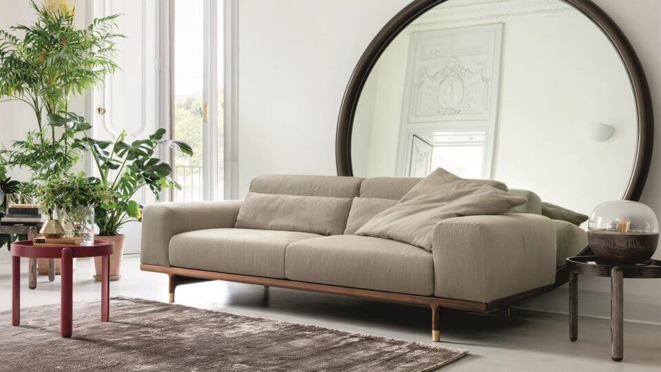 Модульный диван Porada Argo с основанием из массива ореха итальянская мебель в Одессе