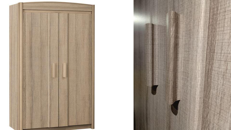 Шкаф распашной 2 - х дверный Gautier Gami Montana итальянская мебель в Одессе