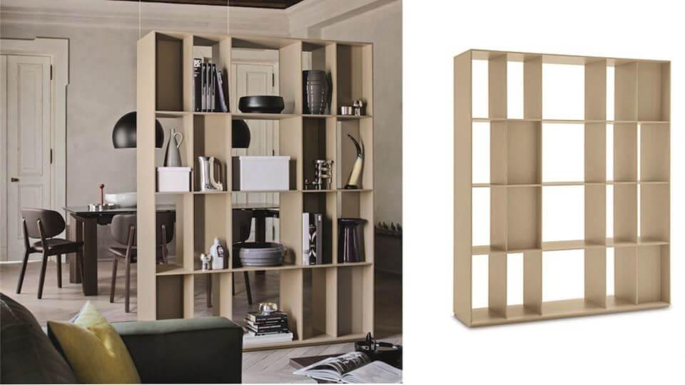 Стеллаж - перегородка Division итальянской фабрики Calligaris итальянская мебель в Одессе