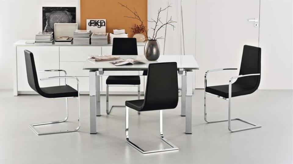Комплект стульев из 4 шт Cruiser итальянской фабрики Connubia итальянская мебель в Одессе
