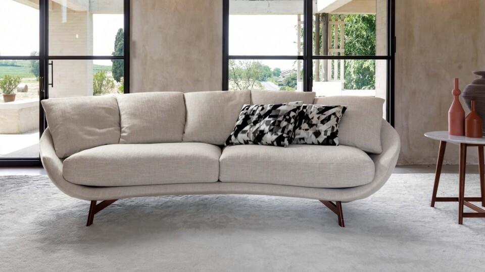 Дизайнерский диван Avì Es Desiree - это очень мягкий, элегантный, современный диван итальянская мебель в Одессе