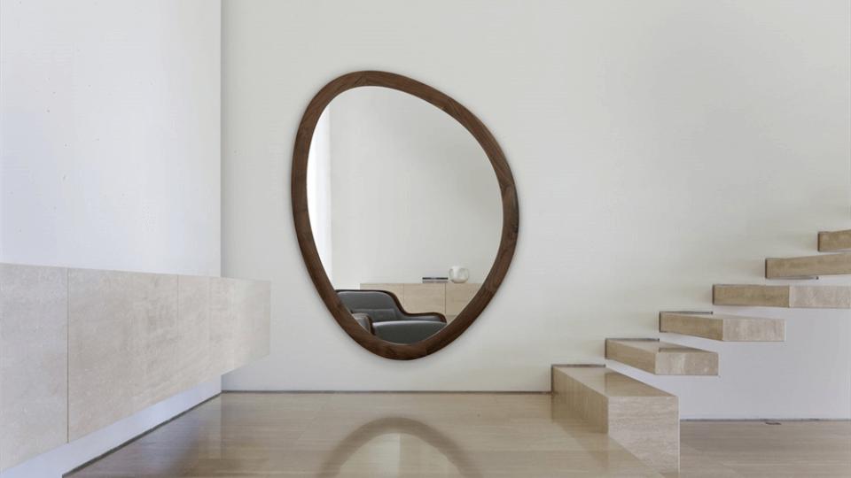 Зеркало Porada Giolo в раме из массива ореха итальянская мебель в Одессе