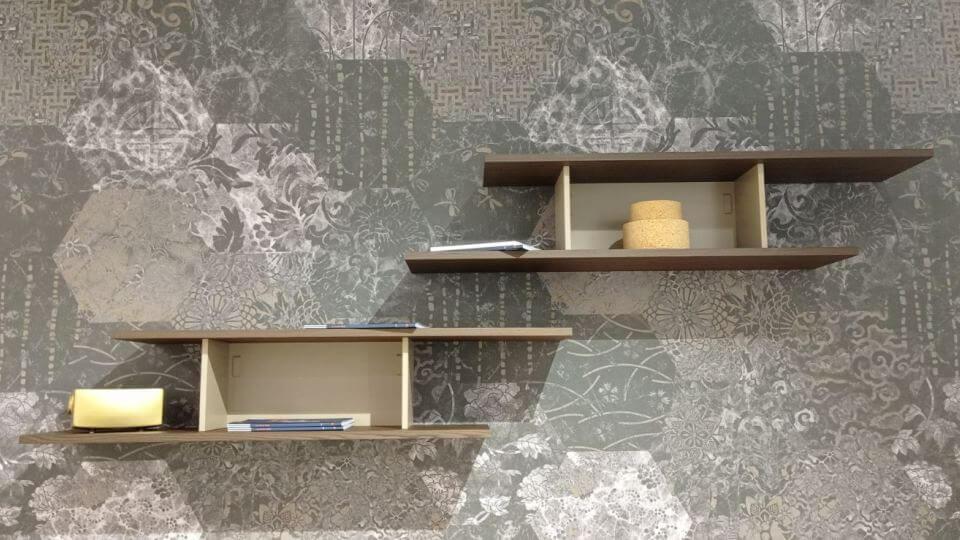 Полка Calligaris Equal в наличии в шпонированной отделке итальянская мебель в Одессе