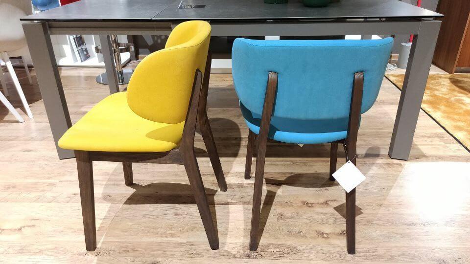 Комплект из 4 обеденных стульев Claire итальянской фабрики Calligaris итальянская мебель в Одессе