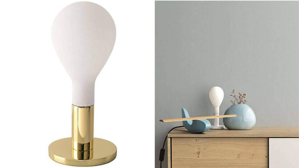 Лампа настольная Pom Pom от итальянской фабрики Calligaris с одной лампочкой итальянская мебель в Одессе