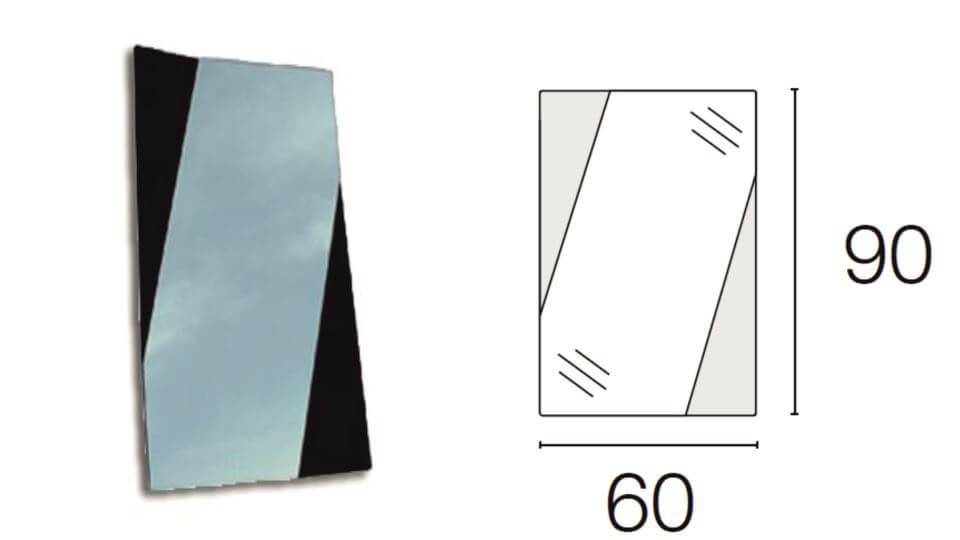 Зеркало Fold от итальянской фабрики Calligaris итальянская мебель в Одессе