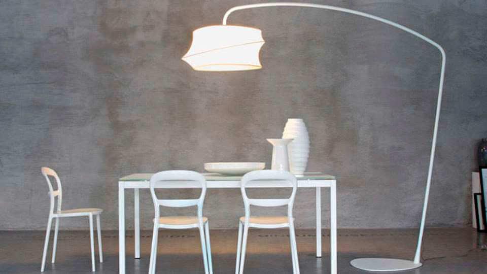Лампа напольная Cygnus от итальянской фабрики Calligaris итальянская мебель в Одессе