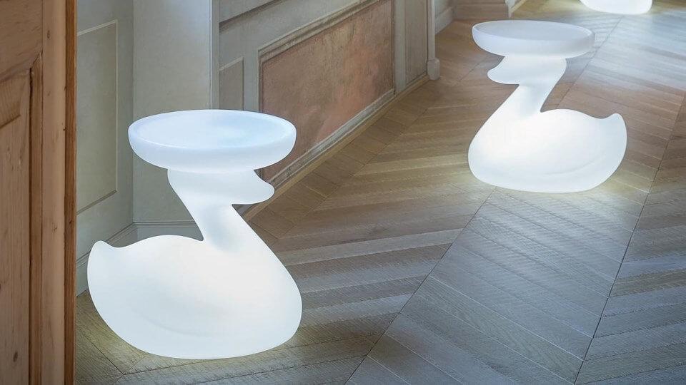 Журнальный стол/напольная лампа/ночник The Duck от итальянской фабрики Bonaldo итальянская мебель в Одессе